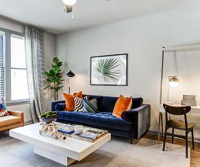 Living Room, Meeting Street Lofts