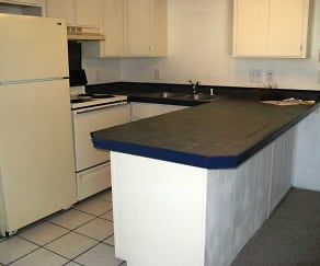Kitchen, Myers Apartments