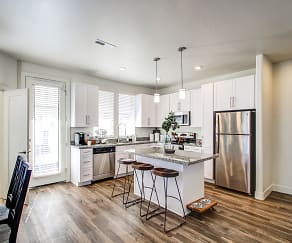 Kitchen, Aero Luxury Townhomes