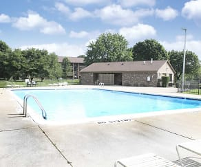 Pool, Green Hill Apartments