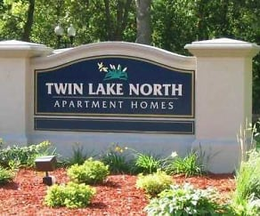 Community Signage, Twin Lake North Apartments