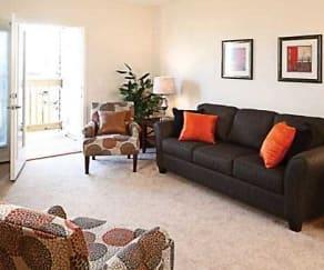 Living Room, Eden Park Senior Apartments