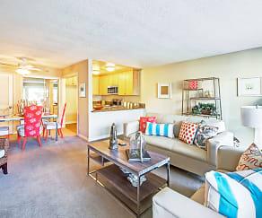 Living Room, The Tides at Marina Harbor