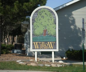 Community Signage, Willow Point
