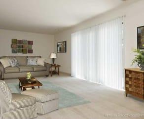 Living Room, Regency Club Townhomes & Apartments