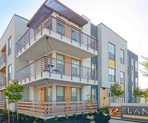 Building, Elan Menlo Park Luxury Apartments