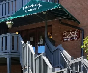 Building, Pebblebrook Apartments