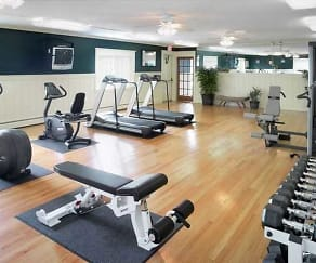 Fitness Weight Room, Parkview Apartments