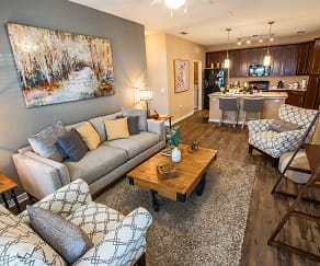 Living Room, Park Place Apartments in Oviedo