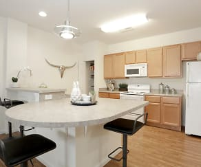 Kitchen, Windsor West Apartments