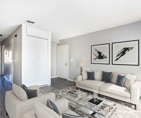 Living Room, Sierra Vista Apartment Homes