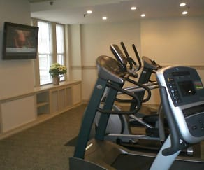 Fitness Weight Room, Park Lane Residences