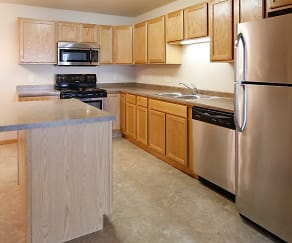 Kitchen, Southwood Apartments