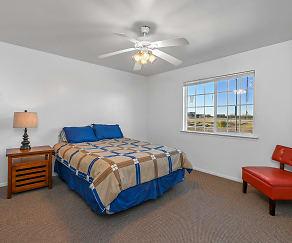 Bedroom, University Terrace Apartments