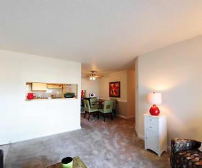 Living Room, Grafton Station Apartments
