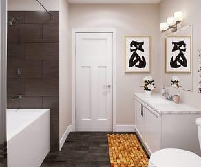 Bathroom, Academy on Fourth