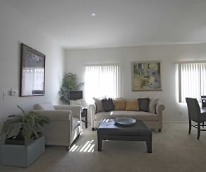 Living Room, Andalusia Apartments