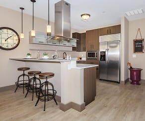 Kitchen, Crocker Park Living Apartments