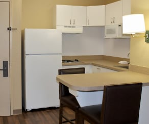 Kitchen, Furnished Studio - Washington, DC - Alexandria - Eisenhower Ave.