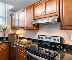 Kitchen, Broadway Apartments
