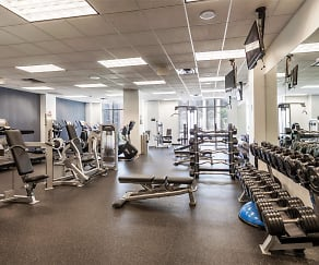 Fitness Weight Room, One City Place