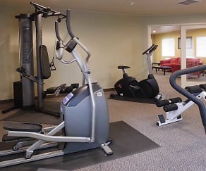 Fitness Weight Room, Sunset Ridge Apartments