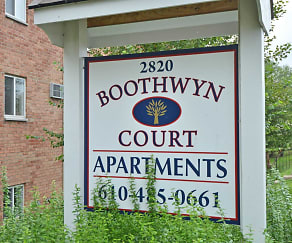 Community Signage, Boothwyn Court Apartments
