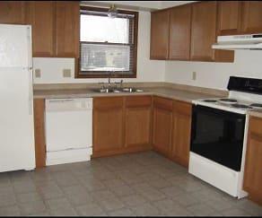 Kitchen, Waukesha Townhomes