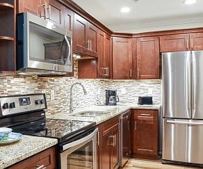 Kitchen, Centennial Apartments