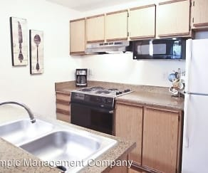 Kitchen, Westridge Apartments