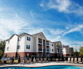 Pool, Clemmons Town Center Apartments