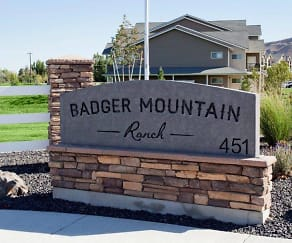 Community Signage, Badger Mountain Ranch