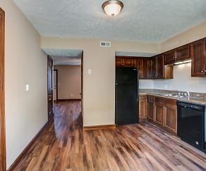 Kitchen, Kings Crest Townhomes