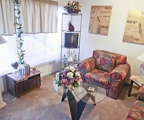 Living Room, Remington Place Apartments