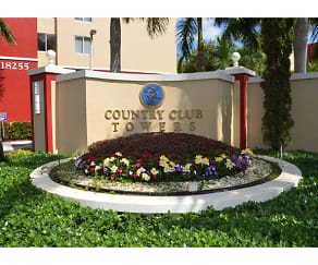 Community Signage, Country Club Towers