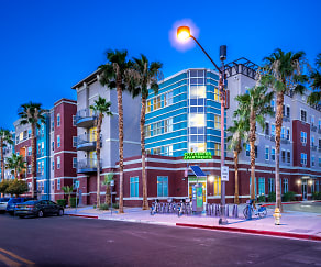 Night / Evening, City Center Apartments