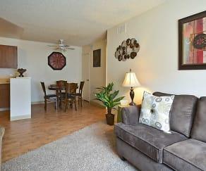 Living Room, Tierra Hills - Tierra Palms