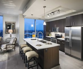 Kitchen, 77056 Luxury Apartments