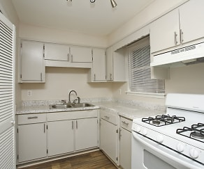 Kitchen, Ashlar Townhomes