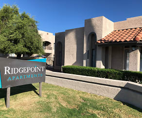 Community Signage, Ridgepoint Apartments