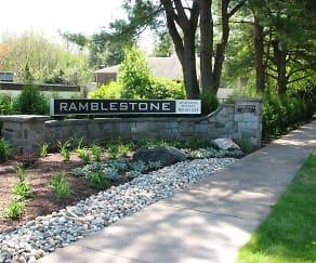 Community Signage, Ramblestone Apartments