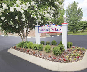 Community Signage, Concord Village