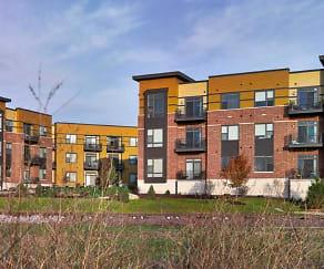 Building, Riva Apartments