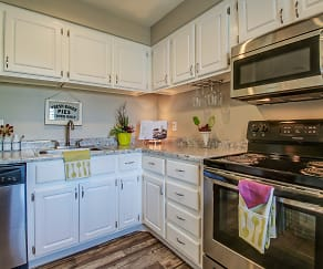 Kitchen, Chandler Meadows Furnished Apartments