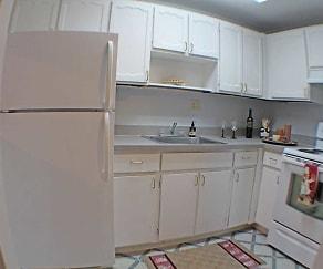 Kitchen, Valley York Apartments