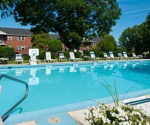 Pool, Fox Meadow Apartments