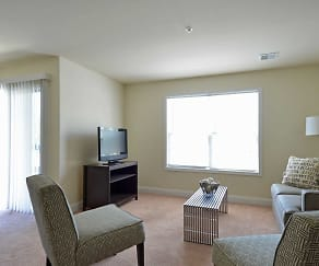 Living Room, Reserve at Spring Pointe