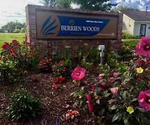 Community Signage, Berrien Woods