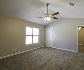 Living Room, Hillwood Apartments