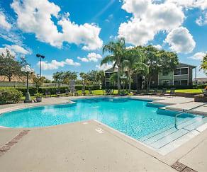 Pool, Saratoga Apartments
